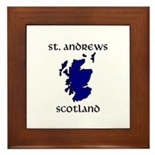 Cute St andrewes Framed Tile