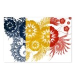 Romania Flag Postcards (Package of 8)