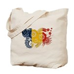 Romania Flag Tote Bag