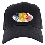 Romania Flag Black Cap