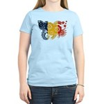 Romania Flag Women's Light T-Shirt