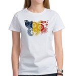 Romania Flag Women's T-Shirt