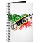 Saint Kitts Nevis Flag Journal
