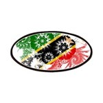 Saint Kitts Nevis Flag Patches