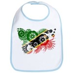Saint Kitts Nevis Flag Bib