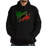Saint Kitts Nevis Flag Hoodie (dark)