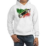 Saint Kitts Nevis Flag Hooded Sweatshirt