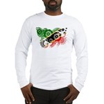 Saint Kitts Nevis Flag Long Sleeve T-Shirt