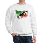 Saint Kitts Nevis Flag Sweatshirt
