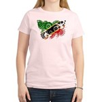 Saint Kitts Nevis Flag Women's Light T-Shirt