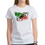 Saint Kitts Nevis Flag Women's T-Shirt