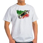 Saint Kitts Nevis Flag Light T-Shirt