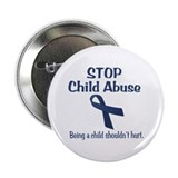 "Stop Child Abuse It Hurts 2.25"" Button"