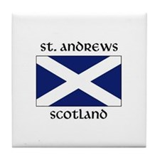 Cool St andrew Tile Coaster