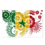 Senegal Flag Postcards (Package of 8)