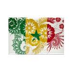 Senegal Flag Rectangle Magnet