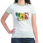 Senegal Flag Jr. Ringer T-Shirt