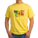 Senegal Flag Yellow T-Shirt
