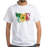 Senegal Flag White T-Shirt