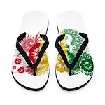 Senegal Flag Flip Flops