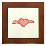Winged Heart Framed Tile