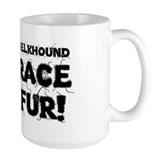 Norwegian elkhound Large Mug (15 oz)