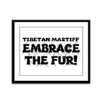 Tibetan Mastiff Framed Panel Print