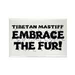 Tibetan Mastiff Rectangle Magnet (100 pack)