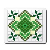 Lincoln Quilt Mousepad