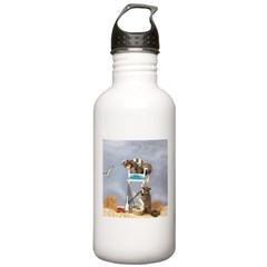 Beach Patrol Stainless Water Bottle 1.0L