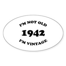 1942 Not Old, Vintage Stickers