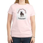 Rescue logo Women's Pink T-Shirt