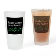 Randy Conner is my favorite a Drinking Glass