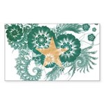 Somalia Flag Sticker (Rectangle 50 pk)