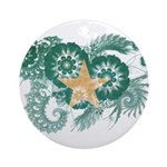 Somalia Flag Ornament (Round)