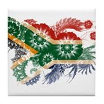South Africa Flag Tile Coaster