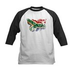 South Africa Flag Kids Baseball Jersey