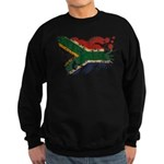 South Africa Flag Sweatshirt (dark)