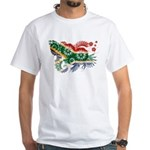 South Africa Flag White T-Shirt