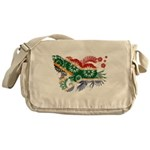 South Africa Flag Messenger Bag
