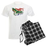South Africa Flag Men's Light Pajamas