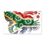 South Africa Flag 22x14 Wall Peel