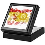 Spain Flag Keepsake Box