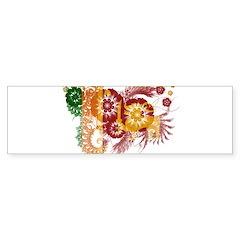Sri Lanka Flag Sticker (Bumper 10 pk)