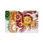 Sri Lanka Flag Rectangle Magnet (10 pack)