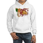 Sri Lanka Flag Hooded Sweatshirt
