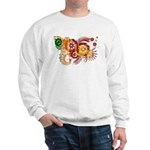 Sri Lanka Flag Sweatshirt