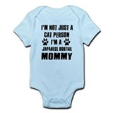 Japanese Bobtail Cat Design Infant Bodysuit