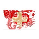 Switzerland Flag 38.5 x 24.5 Wall Peel