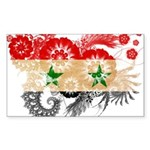 Syria Flag Sticker (Rectangle)
